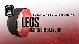 Yoga Wheel: Legs (Strength & Length)