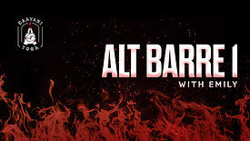 Alt Barre 1 with Emily
