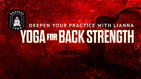 Deepen Your Practice: Yoga For Back Strength