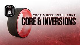 Yoga Wheel: Core & Inversions