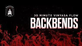 30 Minute Vinyasa: Backbend Focus
