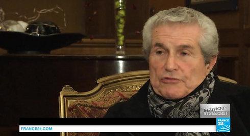 Claude Lelouch  Je travaille avec un grand scénariste qui s'appelle la vie