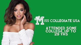 2021 Miss Collegiate USA Pageant