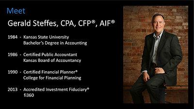 Meet Gerald Steffes