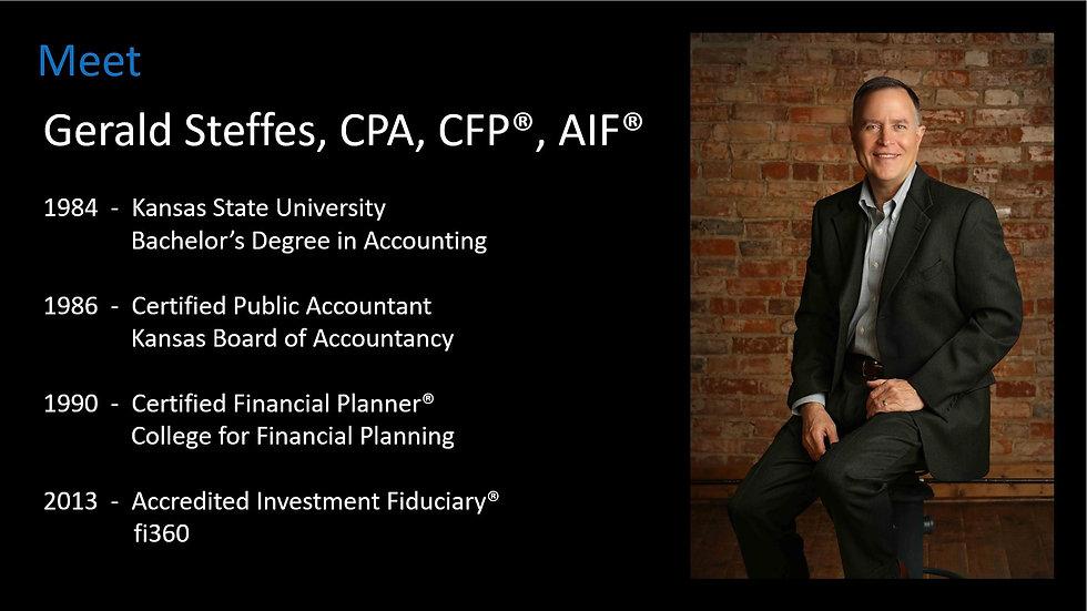 Meet Gerald Steffes 2021-03-01