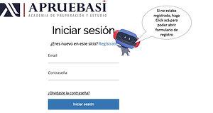 Tutorial Registro en APRUEBASI TV