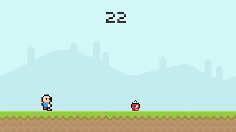 Jumping Boy - Gameplay