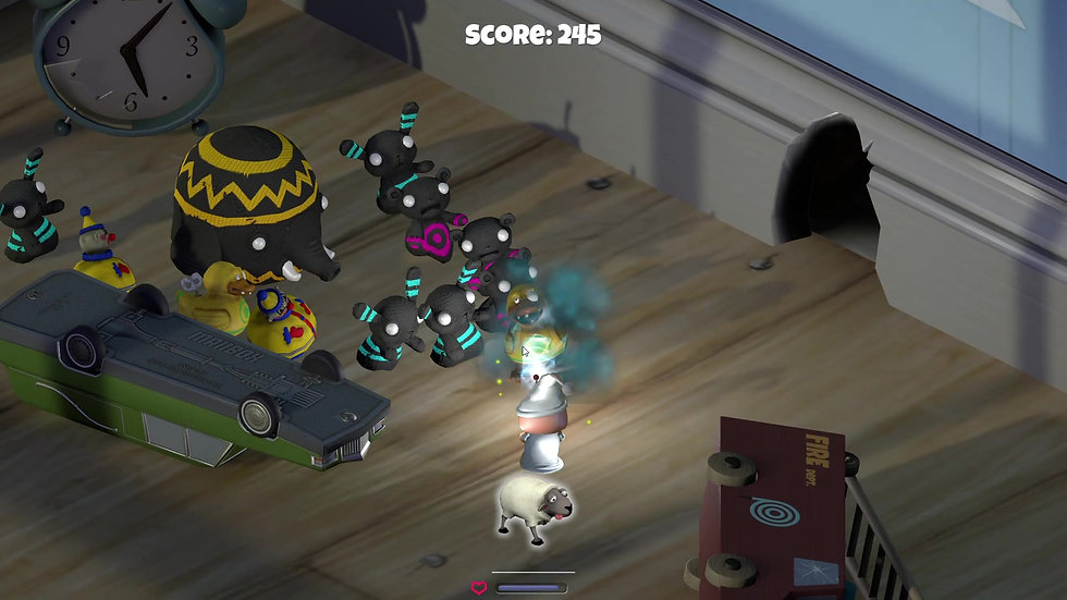 Zombie Toys - Gameplay