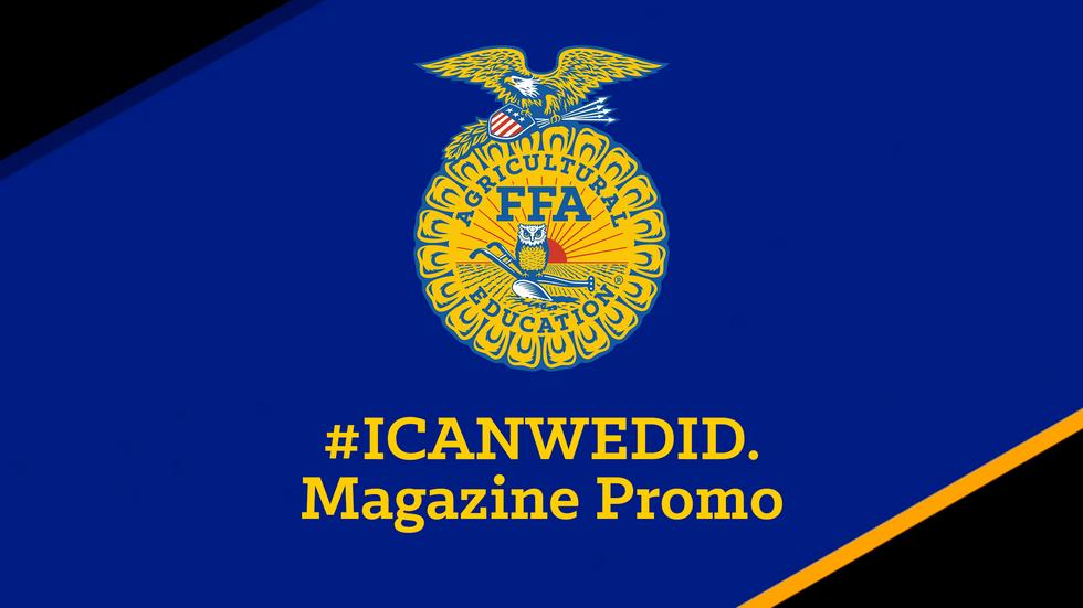#ICanWeDid. Magazine Promo