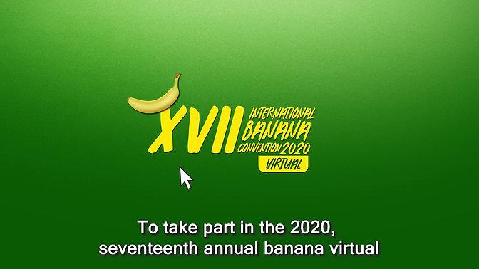 INVITACIÓN XVII CONVENCIÓN INTERNACIONAL DEL BANANO 2020