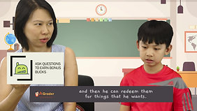"""""""Snipped"""" Mdm Ho & Zanneth Chee - Testimonial for AGrader Learning Centre"""
