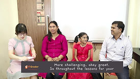 """Snipped"" Mr Rajendran & Rithika Sri - Testimonial for AGrader Learning Centre"