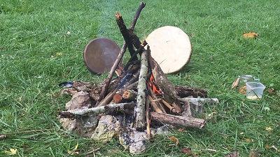 Cercle de Tambours le feu