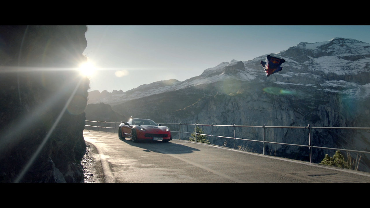 Corvette VS Wingsuit