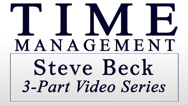 Time Management 3-Part Series @ $35 each