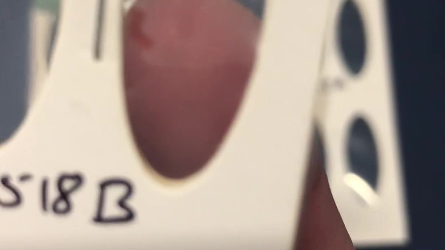 samples after the UV + Thermal accelerated ageing test Video