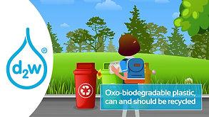 d2w makes ordinary plastic biodegradable