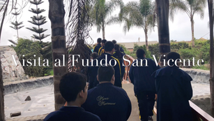 Visita al fundo San Vicente
