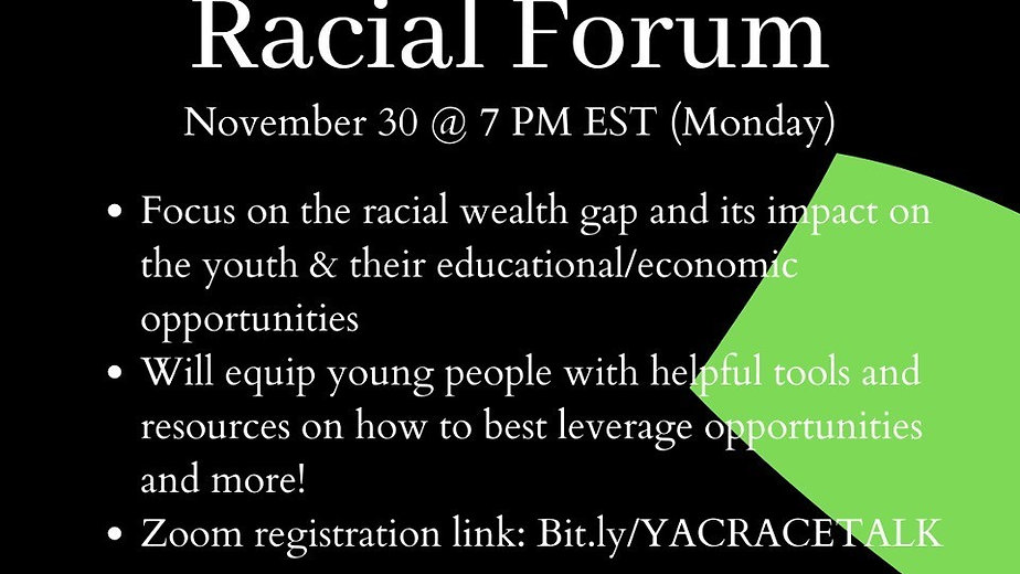 Youth Advisory Committee's Racial Forum Pt. 2