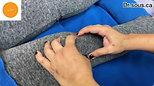 الاسترخاء_ نقاط الزناد والتدليك لألم الركبة. _ Relaxing Trigger Point Massage for Knee Pain.