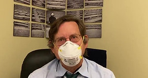 Dr. Dappen explains proper mask use