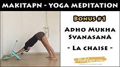 Adho Mukha Svanasana Bonus #1 - La Chaise -