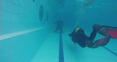Nuoto senza maschera