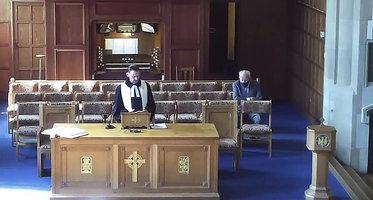 Worship service 30th May