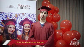 Reeves College, Lloydminster graduation testimonial