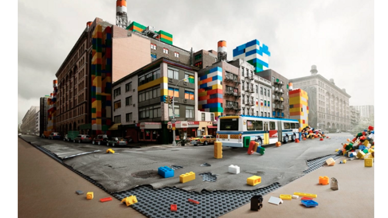 MAKING OF LEGO NEW YORK