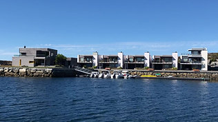 Skjærgårdsparken Lesund sett fra båt