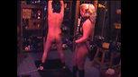 Mistress Ingrid Brescia Spanking paddle e frusta