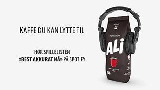 ALI KAFFE - Granittrock Festival Mørkbrent