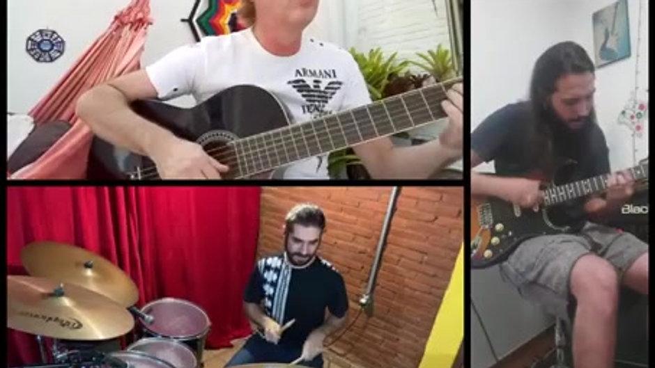 "Música ""Boa Sorte"" em live na pandemia"