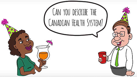 THE CANADIAN HEALTH SYSTEM: A 1-MINUTE RHYME | whiteboard animation