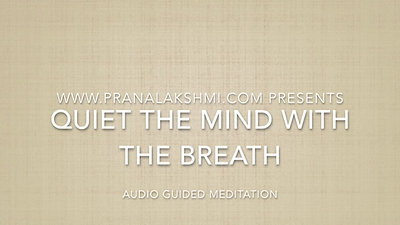 Quiet the Mind with the Breath video
