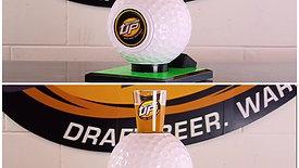 Bottoms Up Golf Ball Beer Dispenser