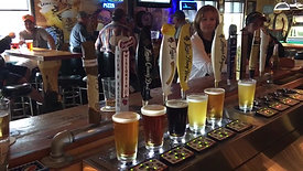 How to Pour Six Beers at Once! - Bottoms Up at Gronk's Bar and Grill