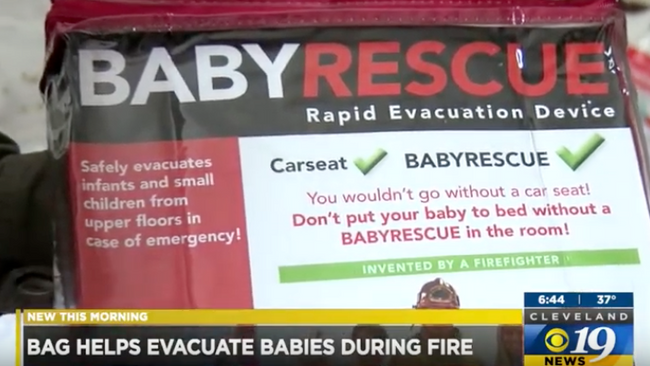 BabyRescue, the life saving, portable baby and infant rescue device, in the news!