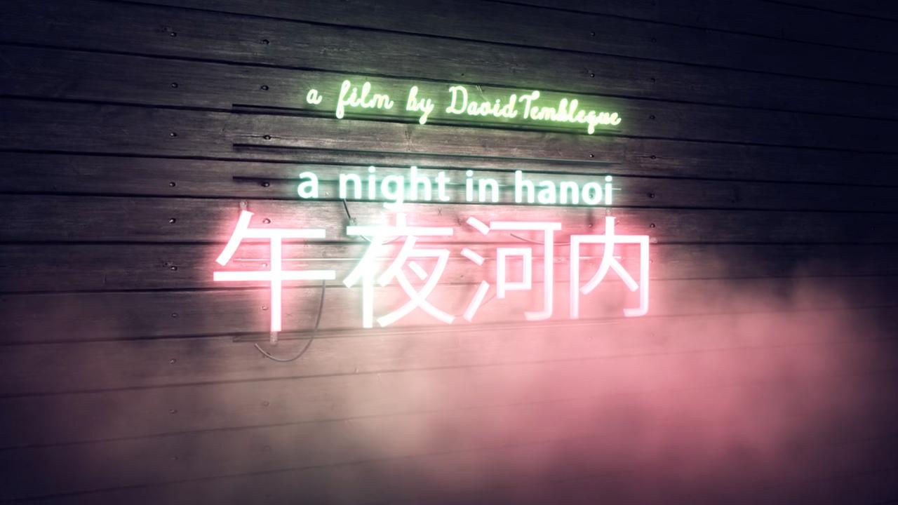 A night in Hanoi