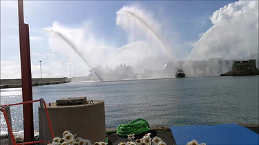 "Tugboat ""Laziale"" Ceremony"