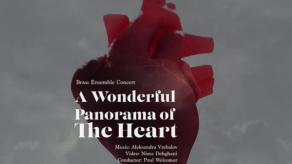 A wonderful panorama of the heart