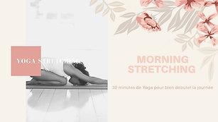 Yoga morning stretching