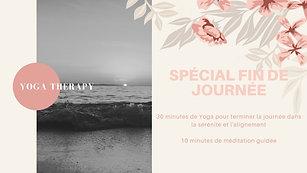 Yoga Therapy Spécial fin de journée