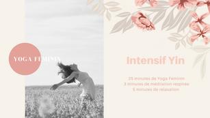 Yoga Féminin Intensif Yin