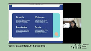 Gender Equality Idea Pod, Dubai UAE
