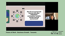 Future of Work Business Growth Workshop, Tanzania, Africa
