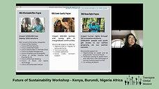 Future of Sustainability, Kenya, Burundi, Nigeria Africa