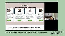 Future of Work Upskilling Workshop, Nigeria, Africa