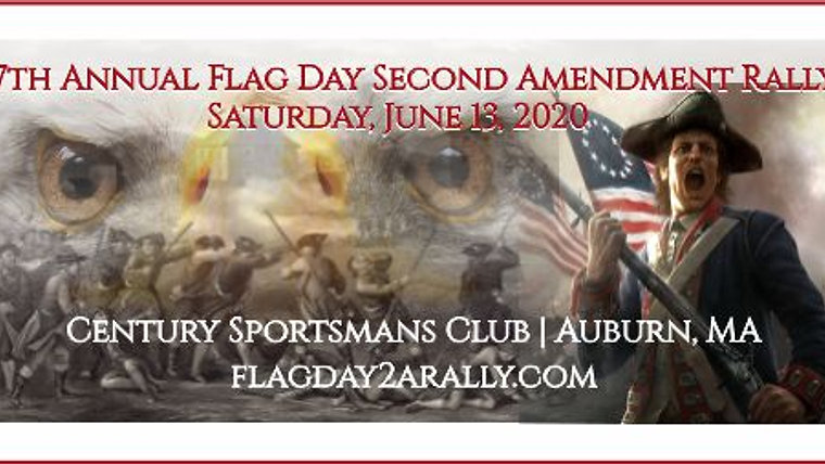 2020 7th Annual Flag Day Second Amendment Rally, Auburn, MA
